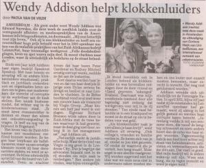 WENDY ADDISON - Telegraaf 15JUNE2013
